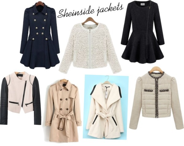 Sheinside jackets